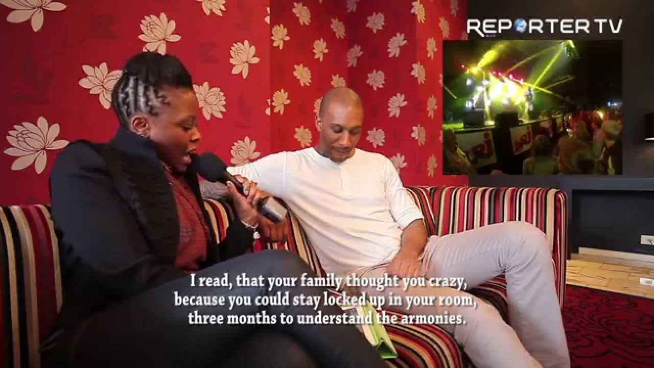 Wayne Beckford interview à Liège au NJR music tour 2014