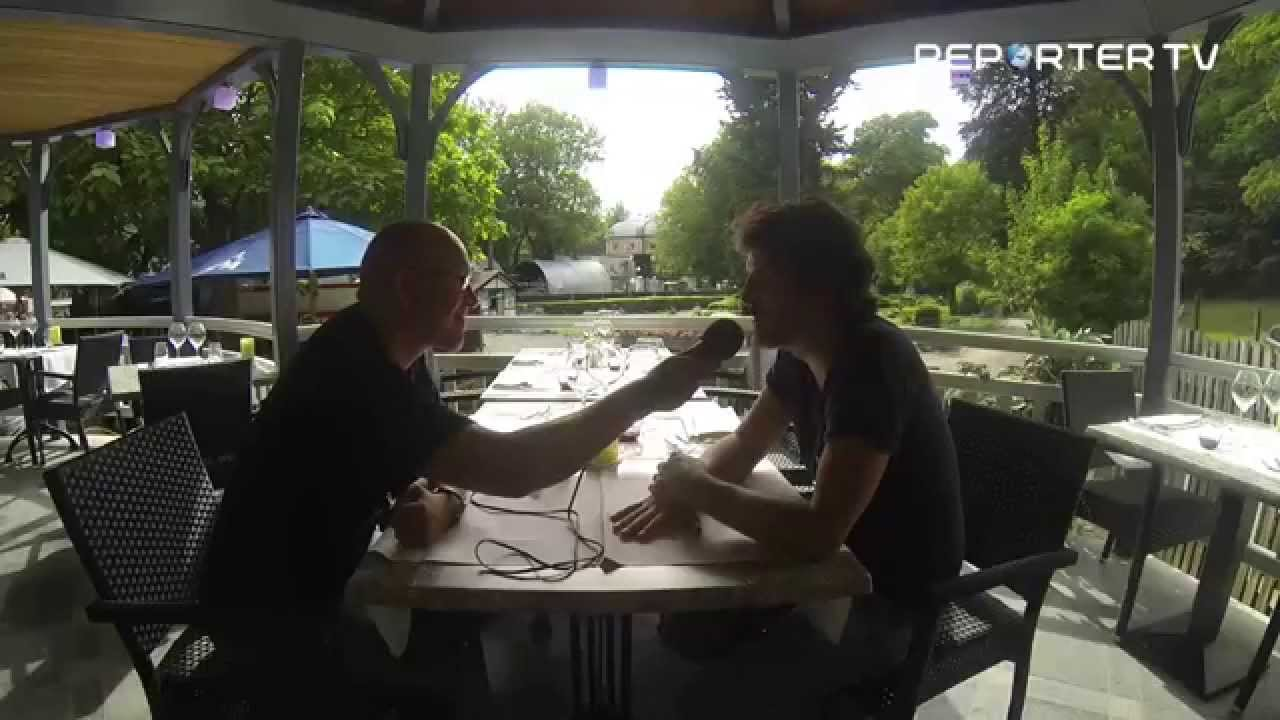 Yohm aux Francofolies de Spa 2015 interview par Reporter TV.