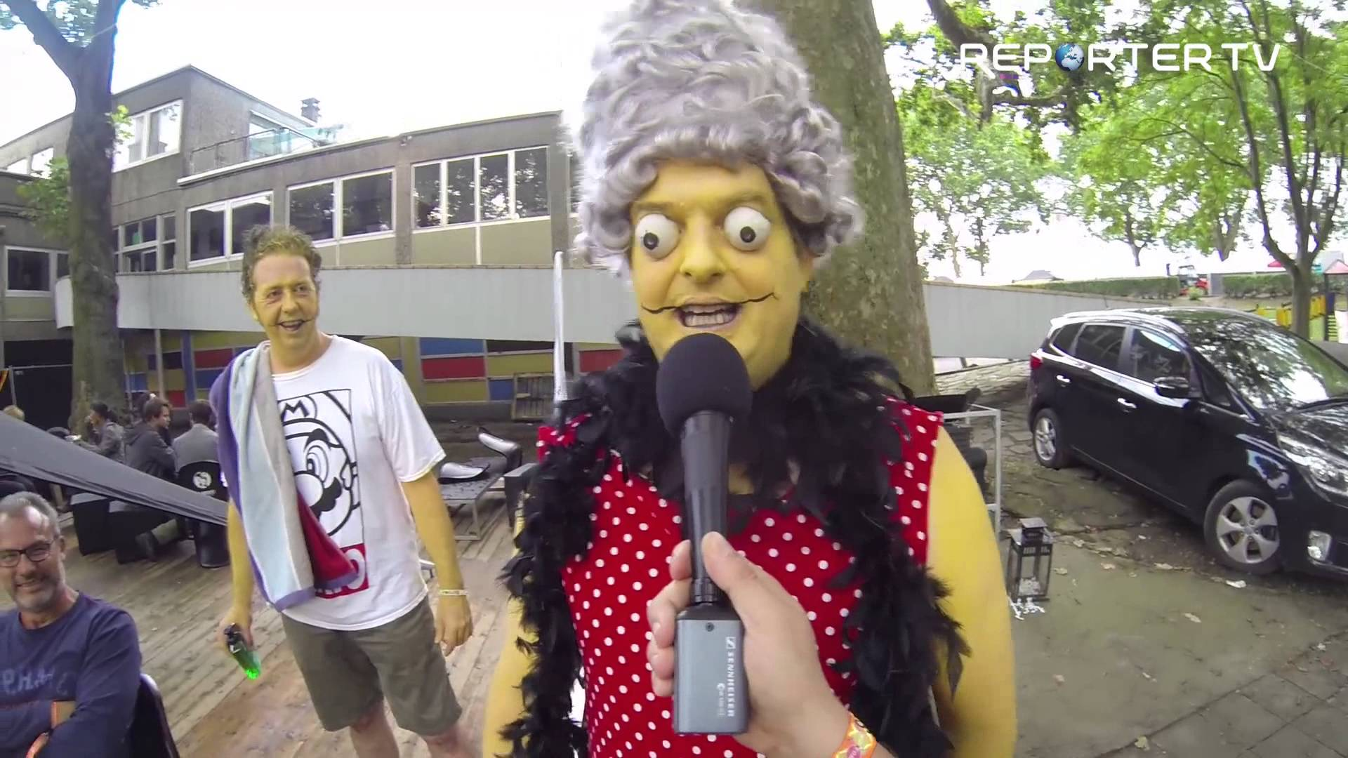 Marge simpson aux Ardentes 2014