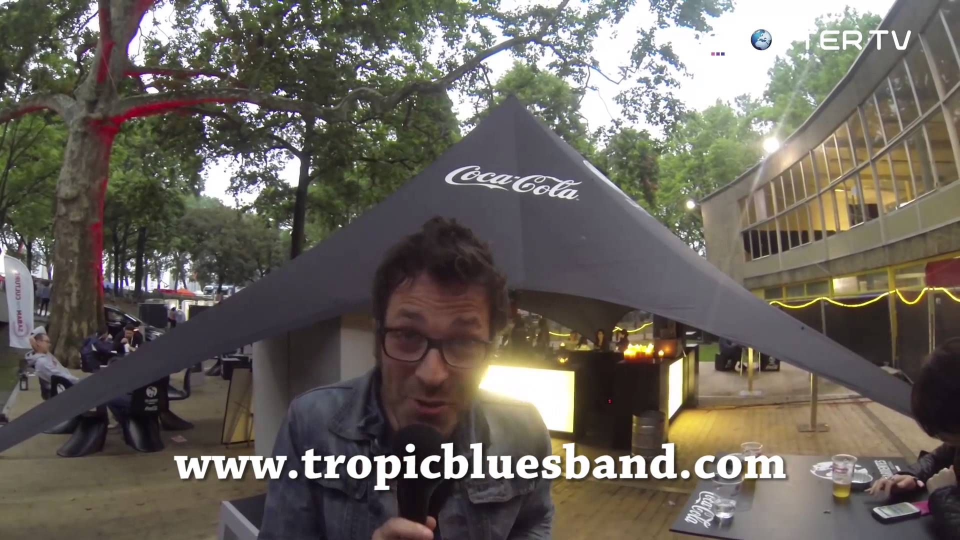 The Experimental Tropic Blues Band message pour Reporter TV